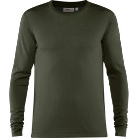 Fjällräven High Coast Lite Merino Strick Shirt Herren deep forest